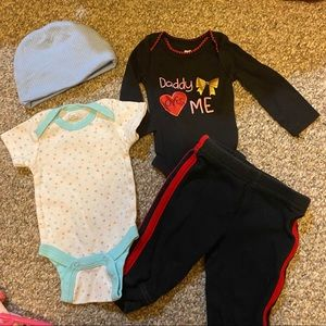 Carter's Matching Sets - 4 Piece 0-3 Months Baby Girl Set  ♥️